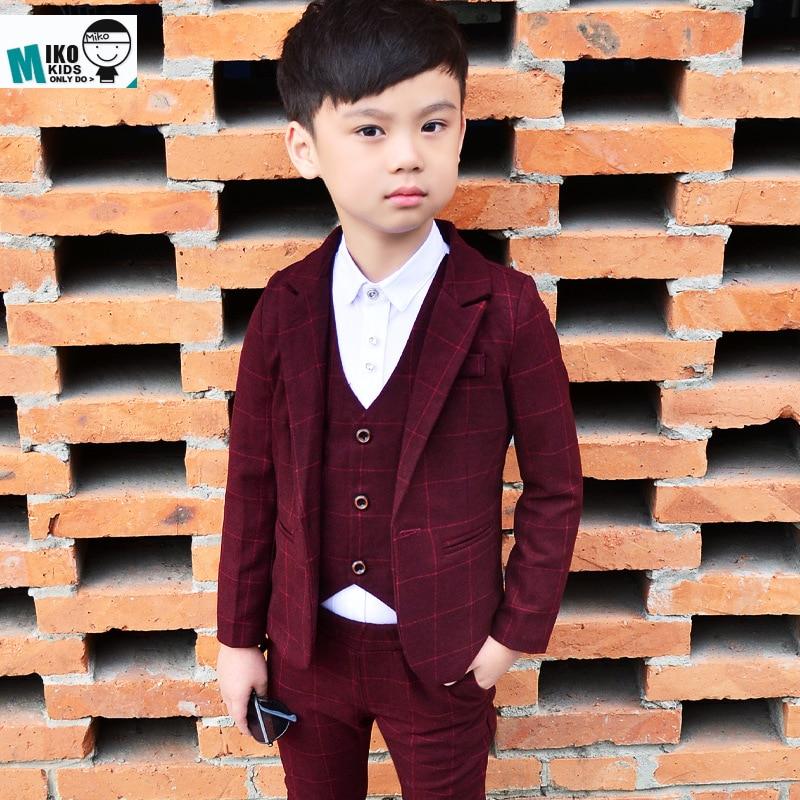 Trajes de chaqueta para niños Fiesta de niños Chaqueta + Chaleco + - Ropa de ninos - foto 3