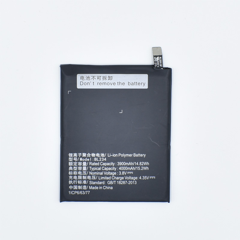 Hekiy New High Quality Battery <font><b>BL234</b></font> For <font><b>Lenovo</b></font> P70 P70t P70-T P1MA40 4000mAh Cell Phone Accumulator Retail Package In stock image
