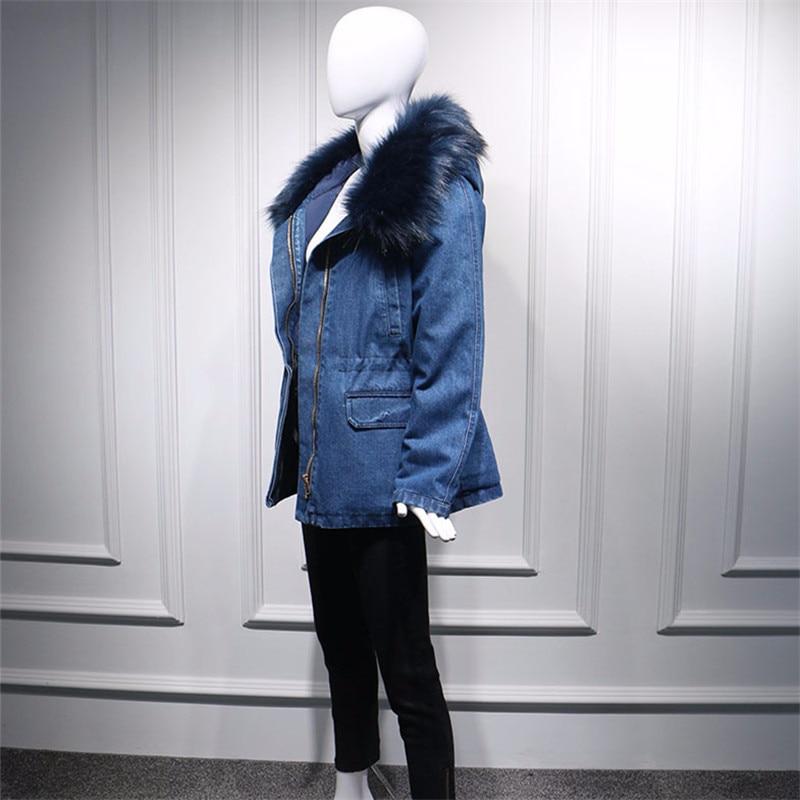 Printemps Lâche À Version Coton La Manches Femmes De Col Longue Mode Plus Taille Fourrure Lq142 Longues Section Vêtements Coréenne Nouvelle Automne rrS7qp