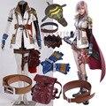 Athemis XIIIFF13 Final Fantasy Relámpago Eclair Farron Cosplay Custume Carácter de Alta Calidad igual que el original de Cualquier Tamaño