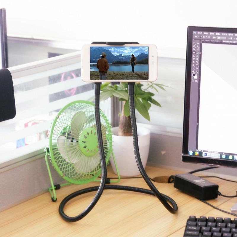 Flexibel mobiltelefonhållare Hanging Neck Lazy Necklace Bracket - Reservdelar och tillbehör för mobiltelefoner - Foto 4