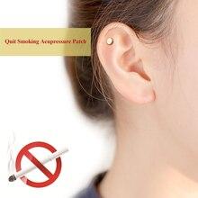 цены 2Pcs Quit Smoking Plaster Magnet Acupressure Anti Smoke Patch Stop Smoking NO Cigarette Smokeless Smoker Health Care