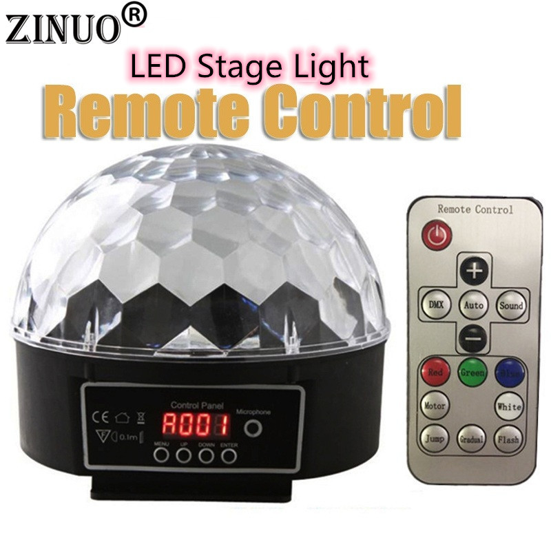 ZINUO LED Stage Lamps Crystal Magic Lights Ball 20W Disco Stage Lighting Digital LED RGB Crystal Party Disco Laser Light DJ LampZINUO LED Stage Lamps Crystal Magic Lights Ball 20W Disco Stage Lighting Digital LED RGB Crystal Party Disco Laser Light DJ Lamp