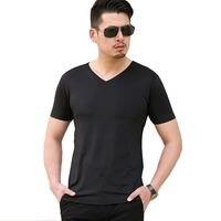 2016 New Brand Summer Men S T Shirt Sexy Tshirt Deep V Neck T Shirts Seamless