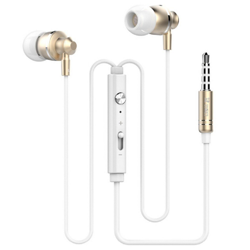 In Ear Earphones Volume Control Heavy Bass Gaming Headset Sport Music Earphone with Microphone for Xioami Smart Phone
