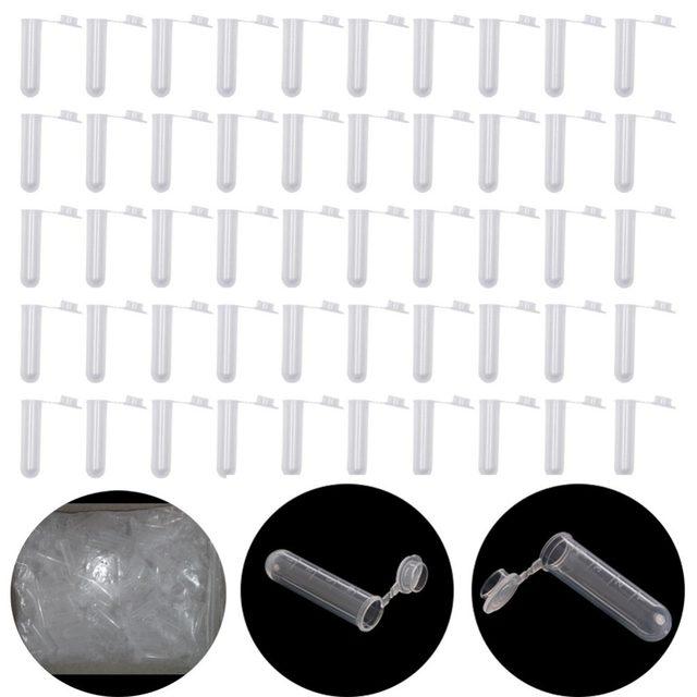 Tienda Online 50 unids 5 ml plástico prueba Tubos centrifugadores ...