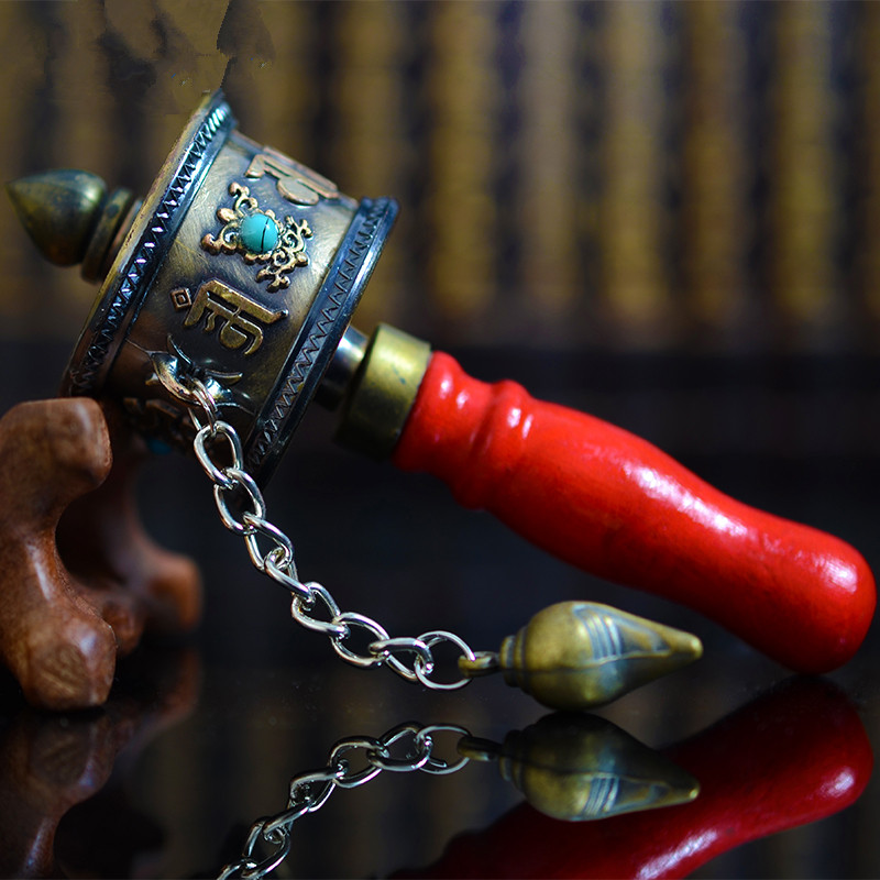 Portable Buddhist Prayer Wheel 5