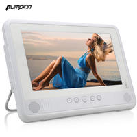 Pumpkin White 10 1 Inch 1024 600 LED Backlight Waterproof Car Portable DVD Player With Car