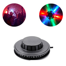 5PCS Mini 48 LEDs 8W RGB Projector laser lighting Disco stage light Bar DJ sound Background wall Christmas lamp part