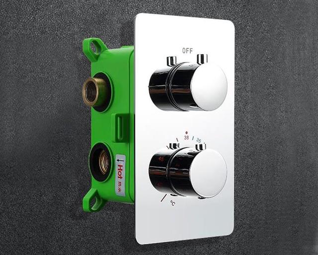 Spedizione gratuita termostatico miscelatore doccia valvola