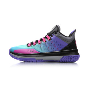 Image 5 - Li Ning Mens Wade วัน 2 Wade คอลเลกชันรองเท้าบาสเก็ตบอล Breathable CUSHIONING ซับรองเท้าผ้าใบกีฬารองเท้า ABPM013 SJAS17