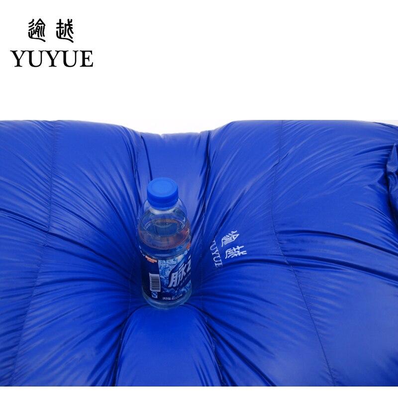 Adult waterproof Lengthened Sleeping Bag Ultralight Tearproof Mummy Camping Sleeping Bag Down For Hiking Equipment Sleep Bags 4