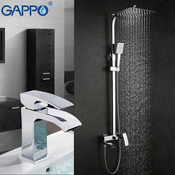 GAPPO Shower Faucets bath tub mixer waterfall shower taps basin faucets basin tap mixer rainfall shower set - DISCOUNT ITEM  49% OFF All Category