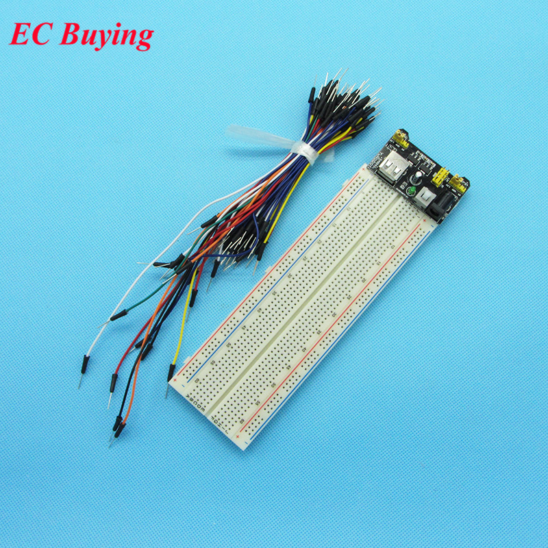⑤MB102 Breadboard 3.3V/5V Power Supply Module +MB-102 830 ...