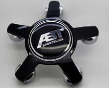 4 шт. 135 мм Черный ABT Колеса Автомобиля Центр Caps Эмблема Авто Колесные Колпаки Колесный Колпак Колпак ступицы Эмблемы Наклейки Для Audi A4 A5 A6 A7