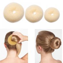 1 шт. Новинка стиль пончик резинка для прически пучок Shaper женские детские волосы для девочек инструмент для укладки прическа волосы булочка Мода