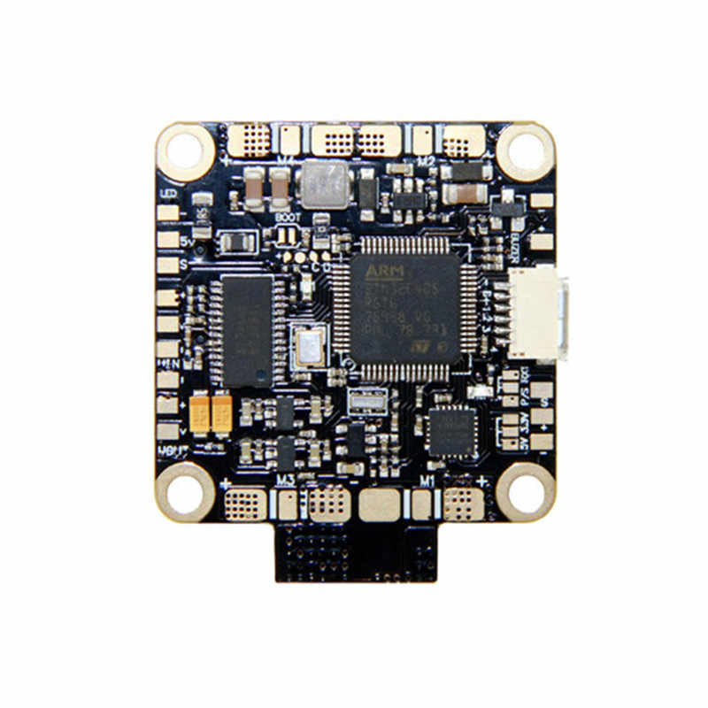 Alta calidad 30,5x30,5mm SPC de F4 a 2-4 S controlador de vuelo incorporado AP Sensor de corriente para RC FPV Racing Drone de Multicopter