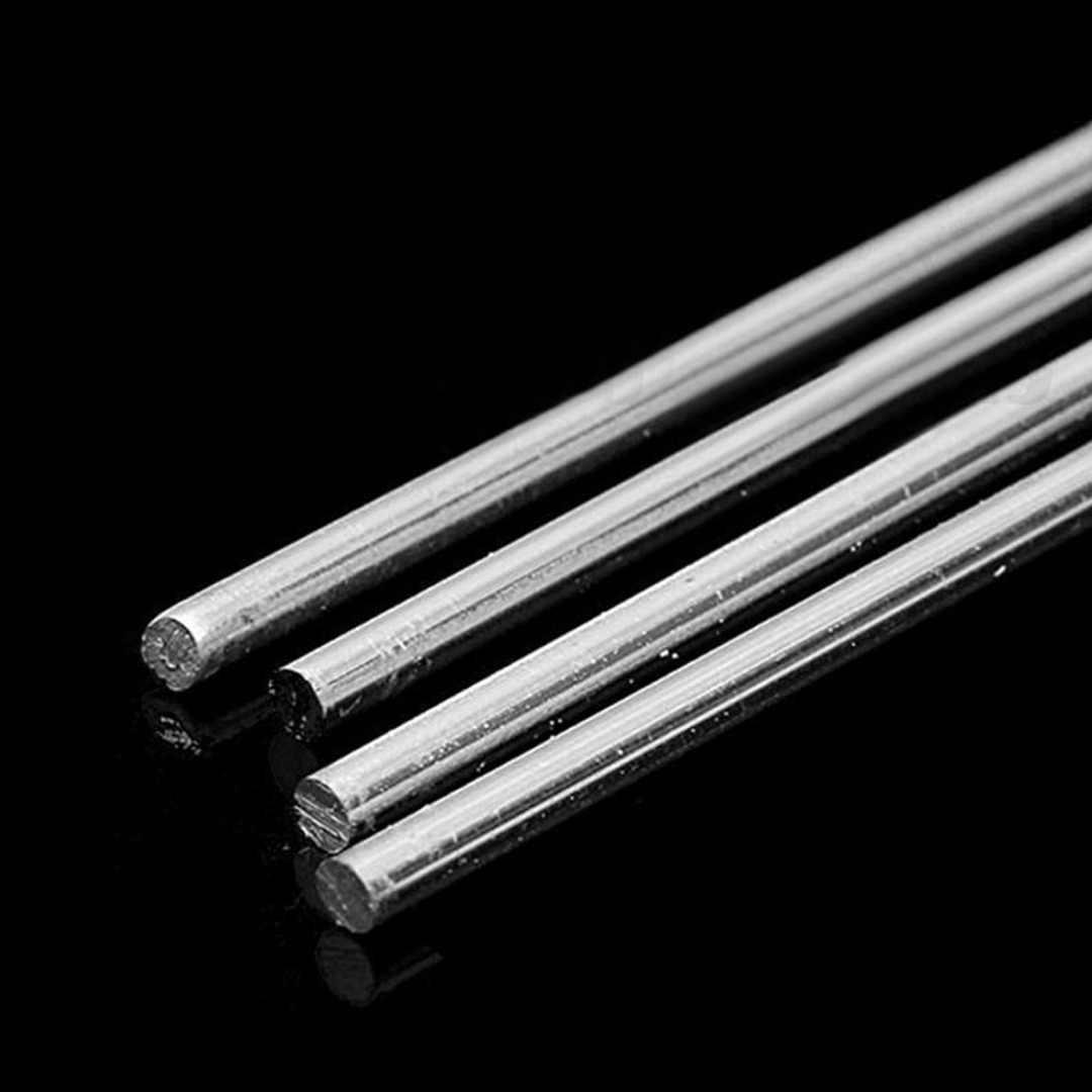 4 pcs Varetas De Solda De Alumínio de Baixa Temperatura De Solda da Haste de Soldadura Tig Mayitr 4mm x 230 milímetros