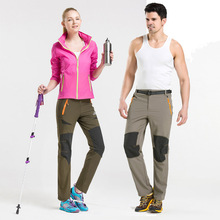 Outdoor Pants Men Women Quick Dry Pant Hiking Climbing Trekking Light Elastic Breathable Quick drying stretch Trousers with belt nextour outdoor pants kids elastic quick dry pants uv proof breathable trousers hiking camping with most of pockets