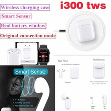 Original i300 TWS 1: 1 size Bluetooth 5.0 Wireless earphones for airb pk i77 i100 i80 i90 tws