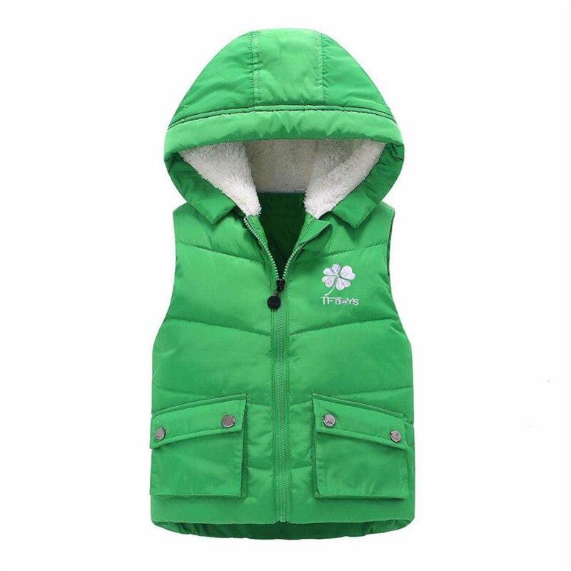 Winter Boys Vest Kid Waistcoats Girl Child sleeveless ...