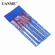 5pcs 145mm Diamond Needle File  Mini Rasp Wood Carving Metal Hand File Set Microtech Hobby Hand Needle  5pcs set rotary burr set wood carving file rasp power drill bits large cone ball oval