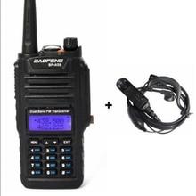 2019 nova walkie talkie A58 A58 dual band 136 174/400 520 MHZ Walkie Talkie fone de Ouvido Livre