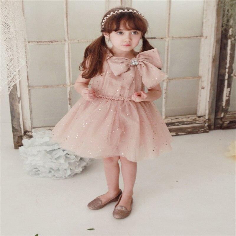 2016 Новинка для девочек праздничное платье принцессы для малышей платья Платья для женщин с большой бант детское свадебное платье Обувь для ...