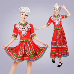 Image 4 - classical traditional chinese dance costumes for women miao hmong clothes traditional hmong clothes china national clothing