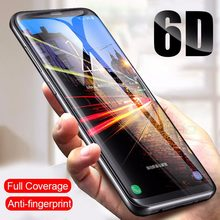 OUZIFISH 6D Full Cover Tempered Glass For Samsung Galaxy S8 S9 Note 8 Screen Protector For Samsung S7 S6 Edge Plus Glass Film(China)
