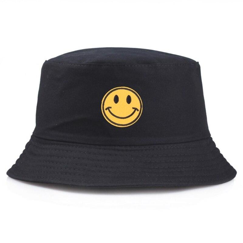 2019 New Flat Fishman Hat Summer Vintage Black Bucket Hat Sad Boys Men Women Hip Hop Fishing Cap Sprots Chapeau Panama Sun Hat Finely Processed