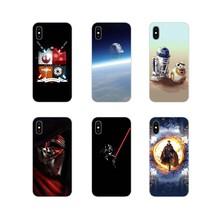 Star Wars Accessories Phone Shell Covers For Sony Xperia Z Z1 Z2 Z3 Z5 compact M2 M4 M5 C4 E3 T3 XA Huawei Mate 7 8 Y3II(China)