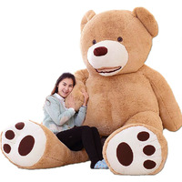 Fancytrader High Quality Super JUMBO Toy 102 Inches / 260cm Huge Bear toys!! Giant Plush Stuffed Bear Great Gift FT90450
