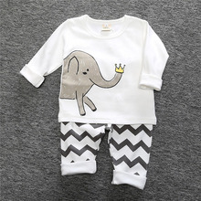 Купить с кэшбэком Spring Children Pajamas Suit Home Clothing Sleepwears Autumn Long Sleeve Cotton Pajama Sets Cute cosy Boy Girl Kids Loungewear