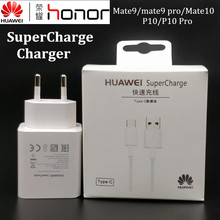Original Huawei P20 pro Charger p20 Mate 9 10 Pro honor note p10 Supercharge 5a Fast Quick Charging  Usb 3.1 Type C cable