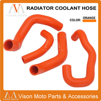 Motorcycle 5MM Silicone Radiator Coolant Hose For KTM 1050 Adventure 2015 2016 15 16