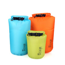 Outdoor PVC Waterproof Dry Sack Storage Bag Super Light  Rafting Sports Kayaking Canoeing Swimming Bag JC