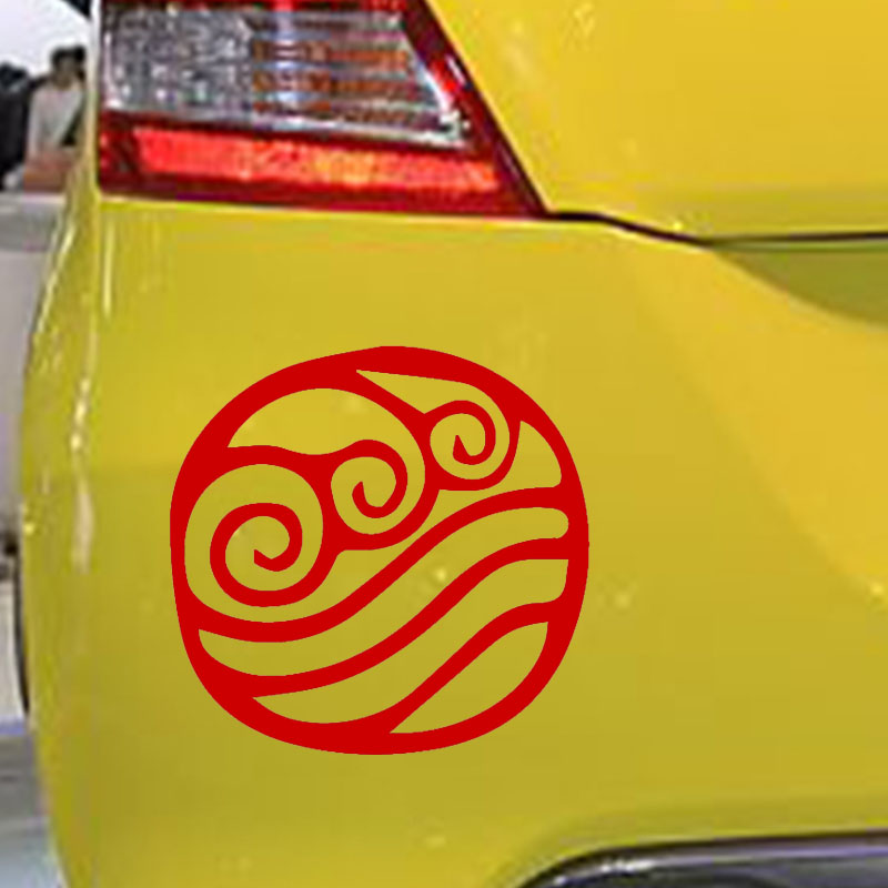 "Avatar Water Element Symbol JDM Funny Vinyl Decal Sticker Car Window Bumper 6/"""