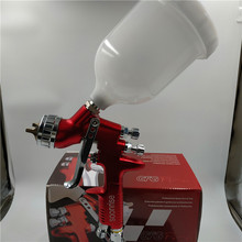 free shipping, SOONRISE GFG Pro car painting gun, HVLP spray gun,600cc plastic cup gravity feed type,1.3mm nozzle