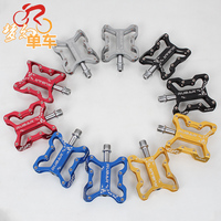 New RUBAR P-06 Mountain Cycling Bicycle Road MTB Bike Ultra-Light Weight Alloy Extrusion Pedals,Black, S82 Free Shipping free