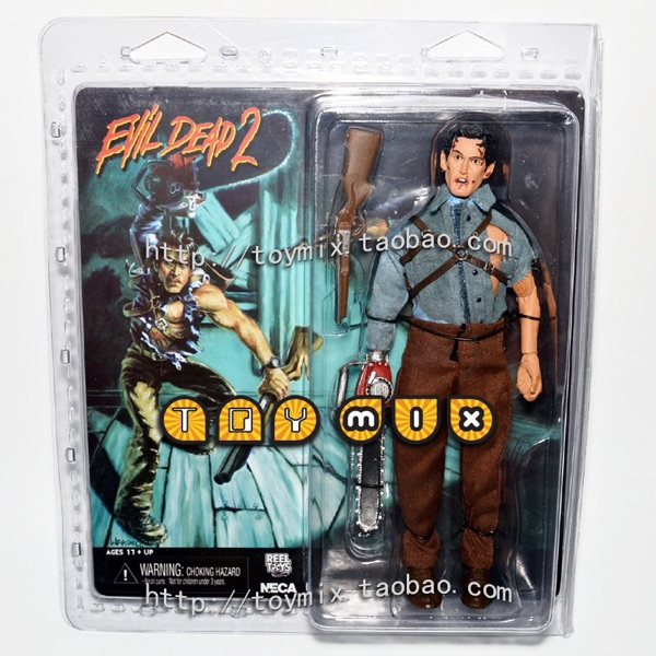 NECA People Play Ghost Play 2 EVIL DEAD2 Ash ASH 8 Inch Doll neca the evil dead ash vs evil dead ash williams eligos pvc action figure collectible model toy 18cm kt3427