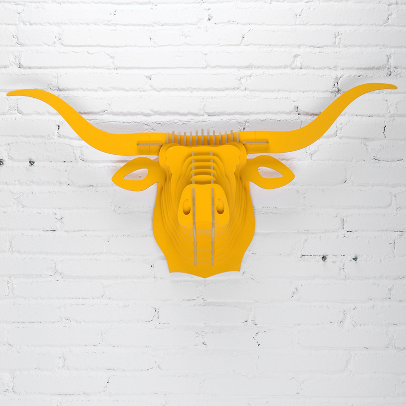 Buy decorative bull head and get free shipping on AliExpress.com