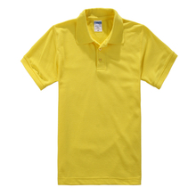 Summer Cotton Business Lapel Short Sleeve POLO Shirt Korean Men Women Casual Collared Solid Color Couple shirt  Tops