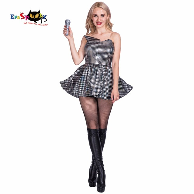 2017 New Arrival Super Star Costume Fancy Dress Costumes Sexy Backless Strapless Short Party Dress Womens  sc 1 st  AliExpress.com & 2017 New Arrival Super Star Costume Fancy Dress Costumes Sexy ...