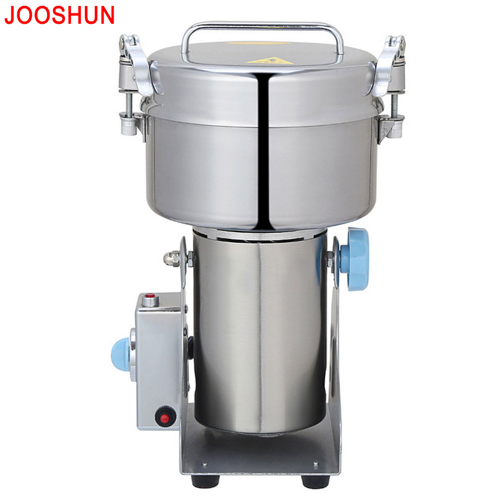 2.2LBS Pepper Crusher Swing Food Grinder Household Electric Rice Flour Mill For Grains Herbs Ultrafine Powder Grinding Machine high quality 2000g swing type stainless steel electric medicine grinder powder machine ultrafine grinding mill machine