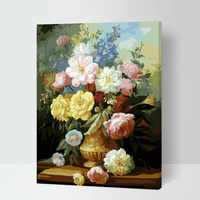 MaHuaf A044 Max Size 60x75cm Frameless DIY Oil Painting By Numbers DIY Digital Oil Painting On