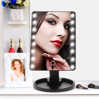 16/22 Light Makeup Mirror Bulbs Dimmable LED Make Up Mirror Illuminated Vanity Cosmetic Beauty Tools зеркало
