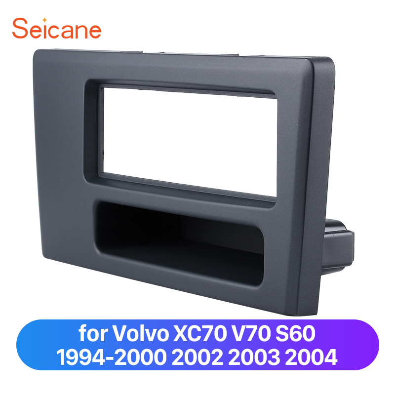 Seicane 1 Din Car Fascia Trim Panel Plate Kit For 1994