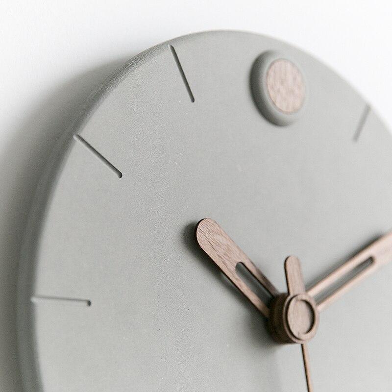 Nordic Uhr Wohnzimmer Mode Uhren Moderne Minimalistischen Kreative Wanduhren Schlafzimmer Wohnkultur Stumm Uhr-in Wanduhren aus Heim und Garten bei  Gruppe 3