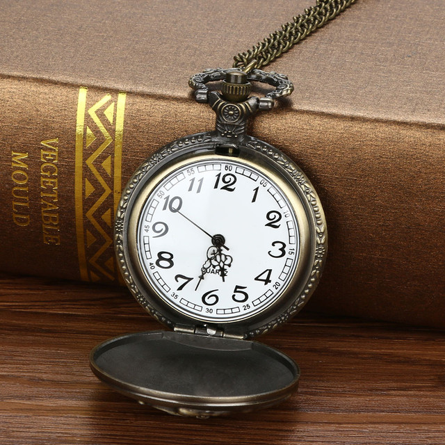 Vintage Chain Pocket Watches Retro The Greatest Pocket Watch Necklace For Grandp